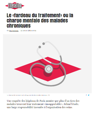 Article libration fardeau du ttt